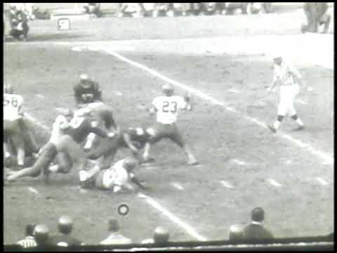 Syracuse vs. Notre Dame 1963 Highlights