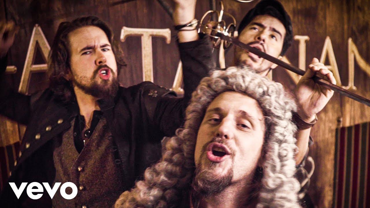 dArtagnan - Песня мушкетеров (Das Lied der Musketiere) (Official Video) - скачать с YouTube бесплатно