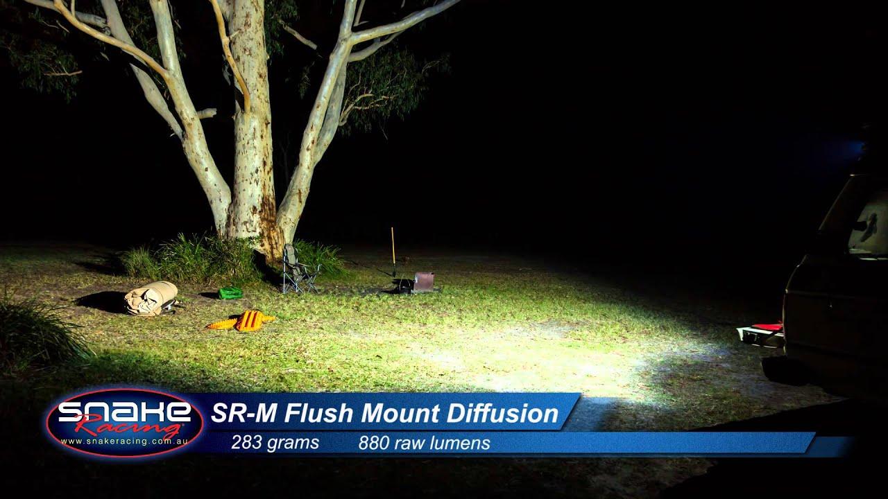 Srm Flush Mount Led Light Comparison Rigid Industries