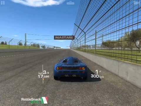 [iOS] Real Racing 3 - McLaren F1, Cup, Indianapolis (Speedway)
