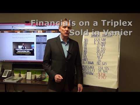 Financials on a Triplex that Sold in Vanier Ottawa
