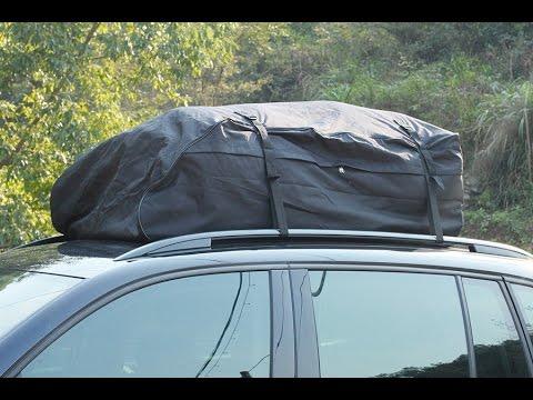 sacoche de toit impermeable pour voiture youtube. Black Bedroom Furniture Sets. Home Design Ideas