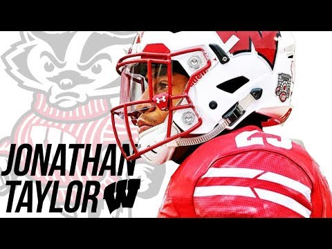 The Future of College Football | Jonathan Taylor Wisconsin Highlights 2017-18