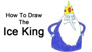 How to Draw the Ice King (Adventure Time)