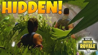 HIDING IN THE END ZONE WITH A GHILLIE! (Pistol only Challenge) - Fortnite Battle Royale!