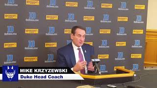 Furman: Coach K Post Game