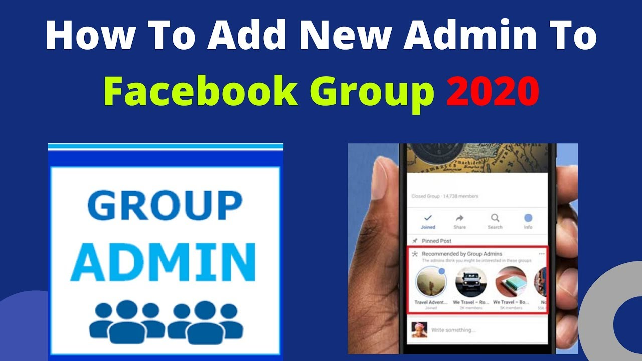 How To Add Admin To Facebook Group 2020 | Add More Admin ...