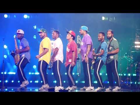 Bruno Mars: Treasure - Montreal August 2017 night 1