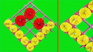 DIY Wall Decoration ideas with Paper Craft | Paper Wall Hanging | DIY Crafts to Decorate your home