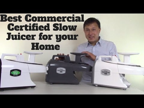 Best Commercial Certified Slow Juicer for Your Home - 동영상