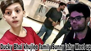 Ducky bhai, khujlee family and Sunny jafry meetup | The Haseeb Tv