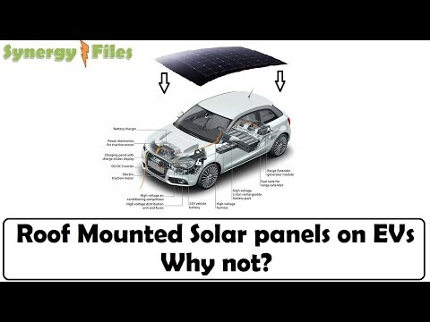 Why dont we have solar panels on the car roof?