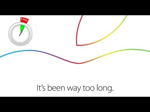 Октябрьская презентация Apple за 5 минут / Apple October Event 5 minutes