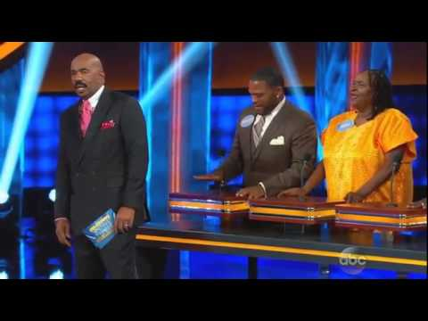 Anthony Anderson Mom crazy answer on family fued