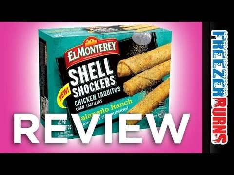 El Monterey Shell Shockers Jalapeño Ranch Chicken Taquitos Video Review: Freezerburns (Ep612)