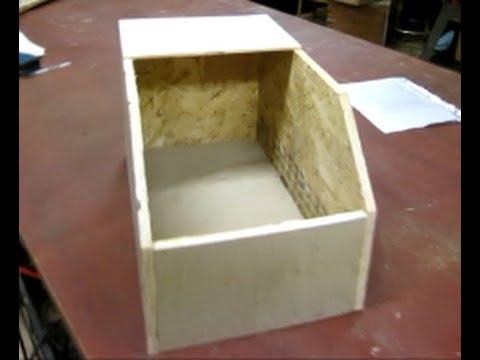 BIY rabbit nest box