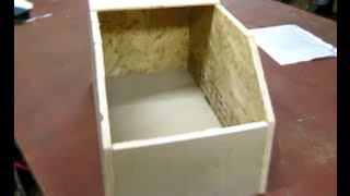 Free rabbit nest box - Build it yourself BIY