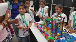 FLL Jr 2018 Explaining what they built