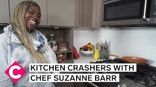 Kitchen tour with Chef Suzanne Barr | Kitchen Crashers