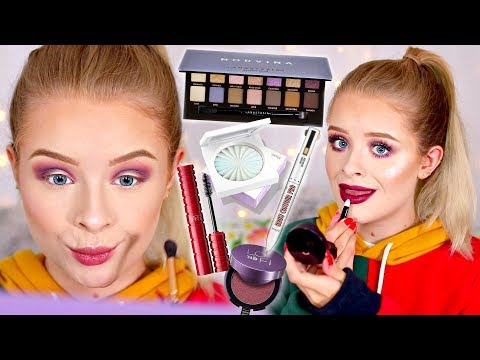 TESTING NEW POPULAR MAKEUP.. WORTH THE HYPE?! MY HONEST OPINIONS 馃槄| sophdoesnails