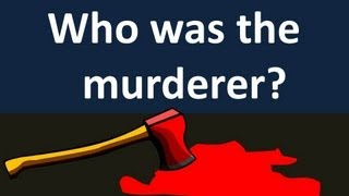 The Murder Mystery Game 10