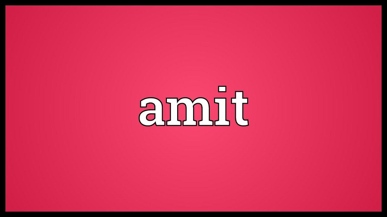 Amit Name Wallpaper Free Download