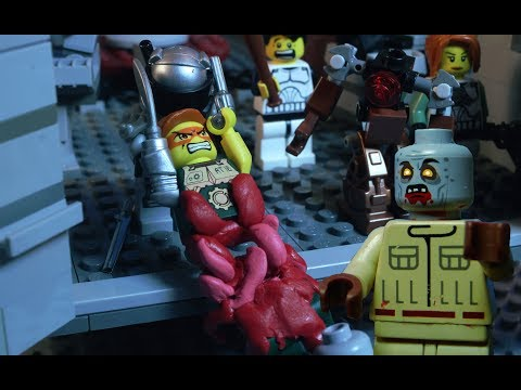 The LEGO Zombie Apocalypse FULL MOVIE