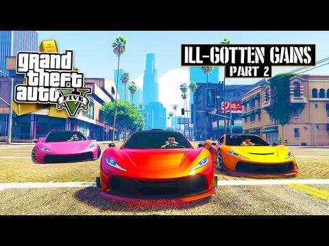 GTA 5 DLC - NEW ILL-GOTTEN GAINS PART 2 CARS RACES! McLaren, Off-Road & More! (GTA 5 DLC Gameplay)