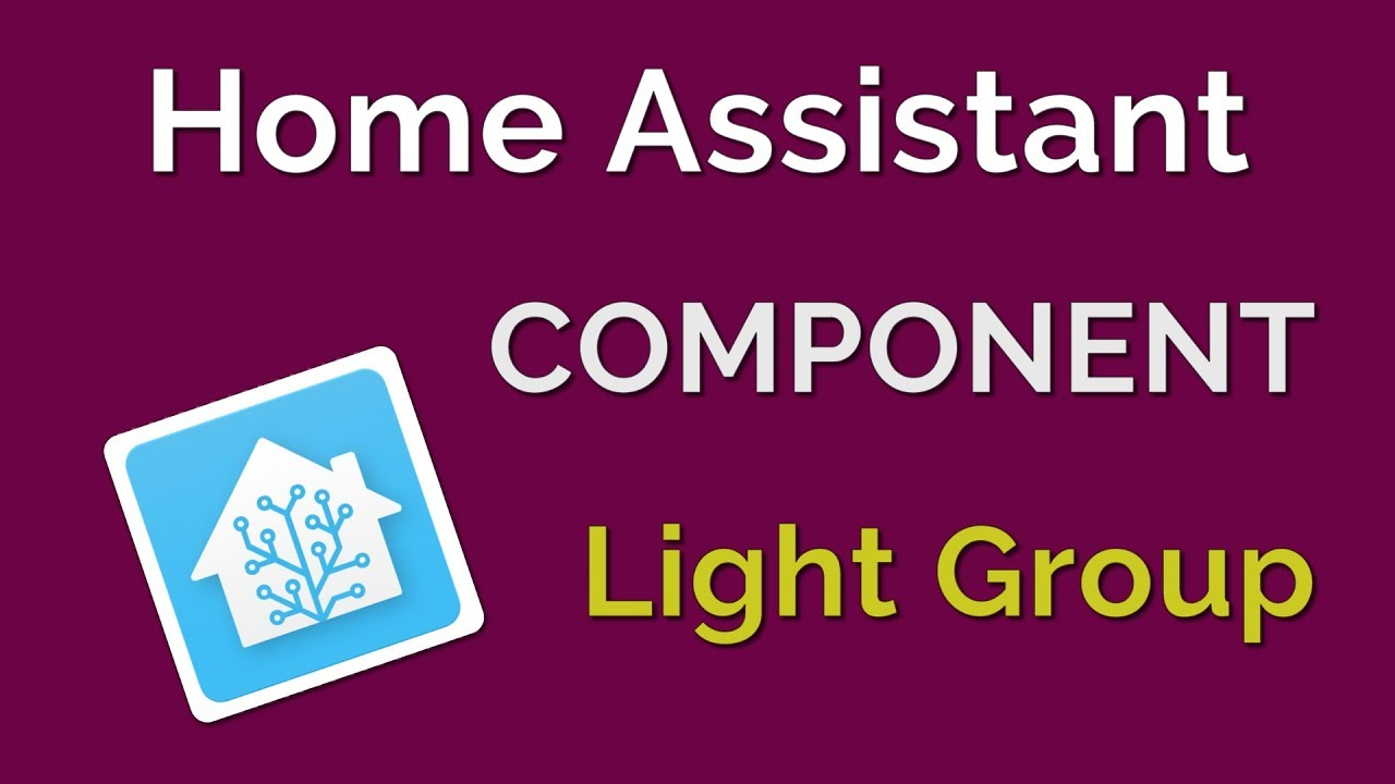 How to group lights in Home Assistant