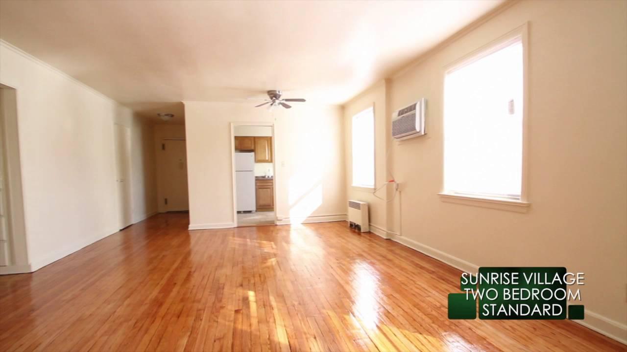Sunrise Village Apartments 2 Bedroom Standard - YouTube