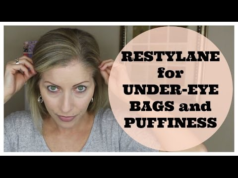 Part 1 - Restylane Under Eye Filler Injections for Under Eye Bags and Puffiness