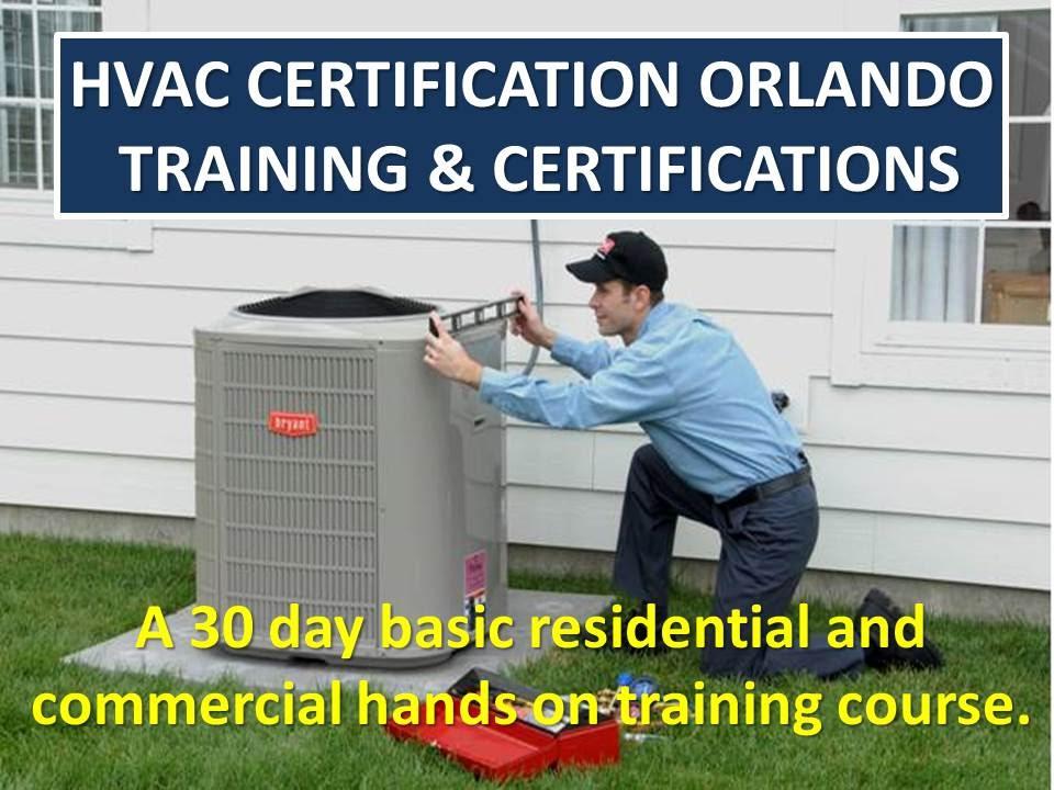 Get an HVAC EPA Certification Universal License Orlando FL 321-216 ...