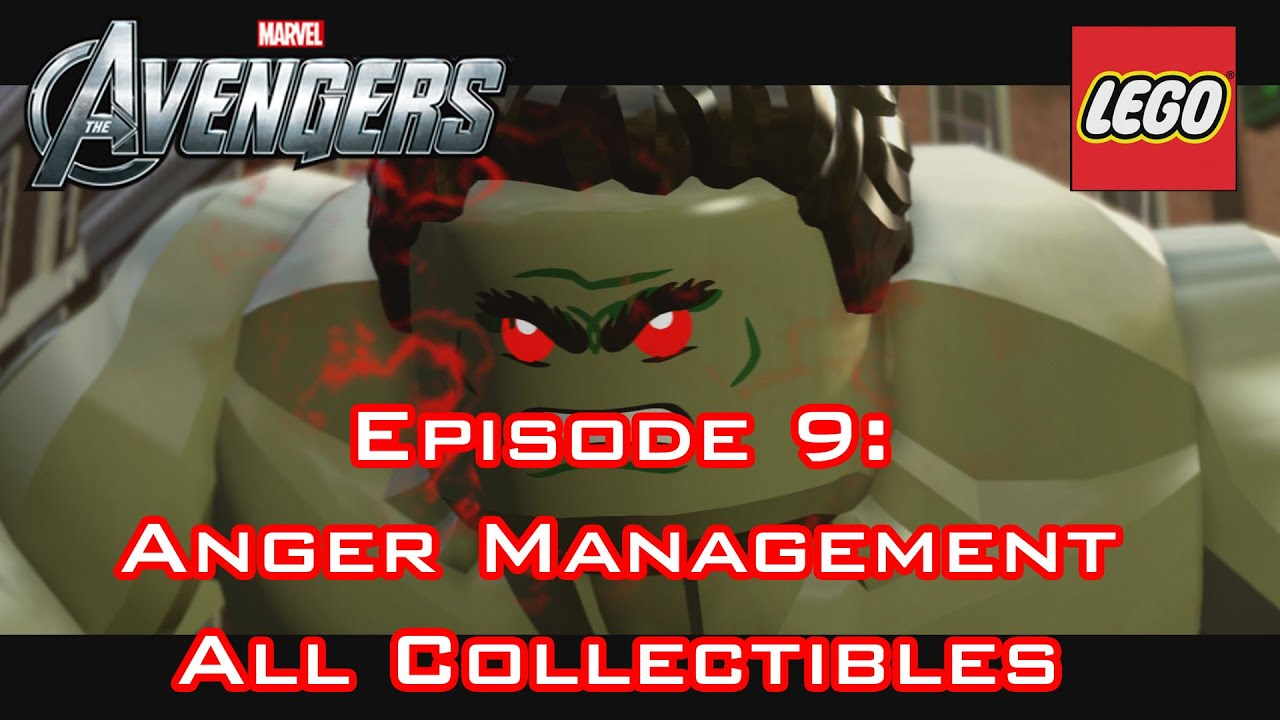 """Lego Marvel's Avengers - ALL COLLECTIBLES: """"ANGER ..."""