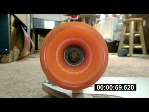Bones Super Reds Bearings Spin Test   Flatland Longboarding