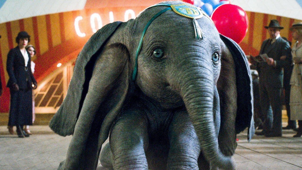 Dumbo Flies For The First Time Scene Dumbo 2019 Movie Clip Youtube