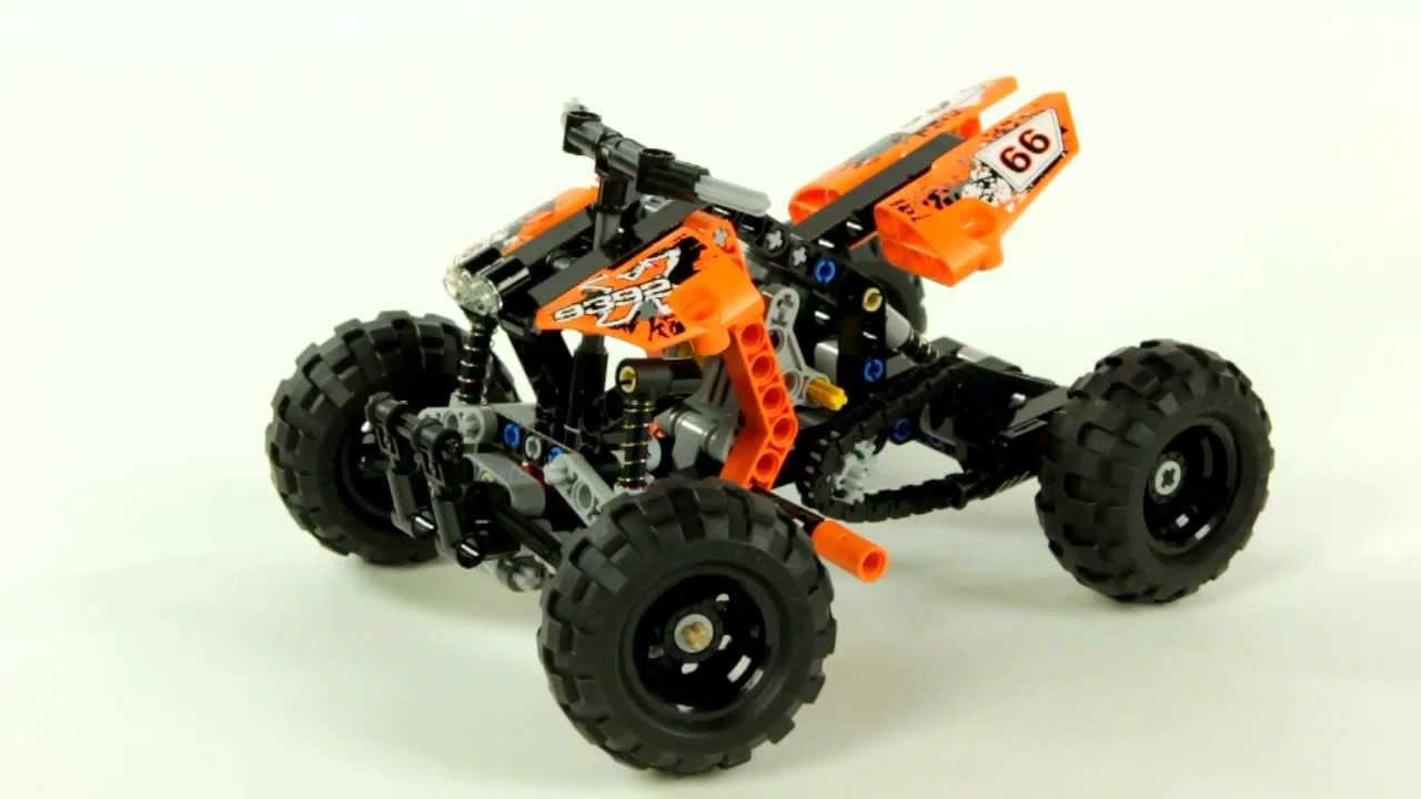 lego technic 9392 quad youtube