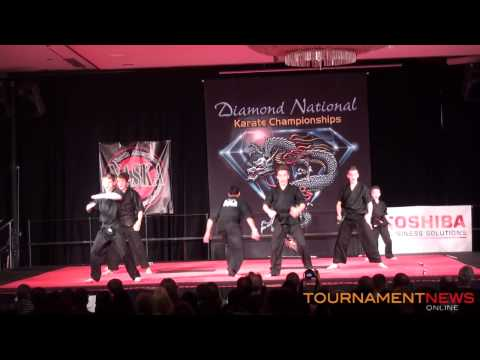 Team AKA Opening Demo at Diamond Nationals 2013