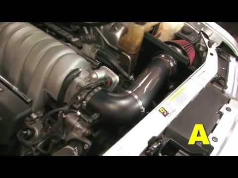 How To Install an AEM Air Intake on a 2006-2010 Chrysler 300C, Dodge Charger, or Dodge Magnum 6.1L