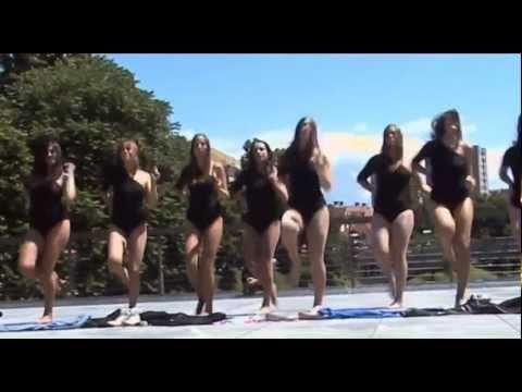 FLASH MOB Ljubljana Slovenia, Beyonce-Single ladies: GENEROSITY