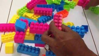 How To Make Lego Toy Helicopter - Menyusun Lego