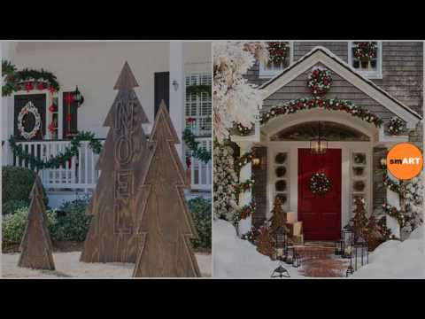 Christmas Decorations Ideas Outdoor   Homemade Outdoor Christmas Decorations  Ideas
