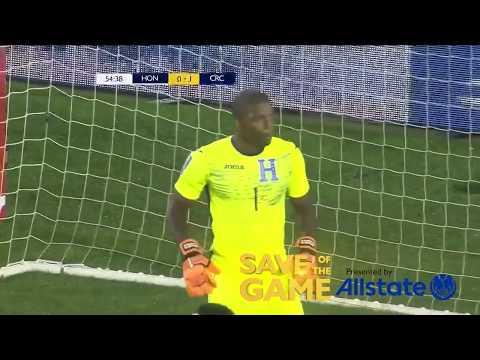 Save of the Game   Honduras vs Costa Rica