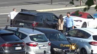 KRIJU SE: Milica Pavlović i Stefan Živojinović na tajnom sastanku