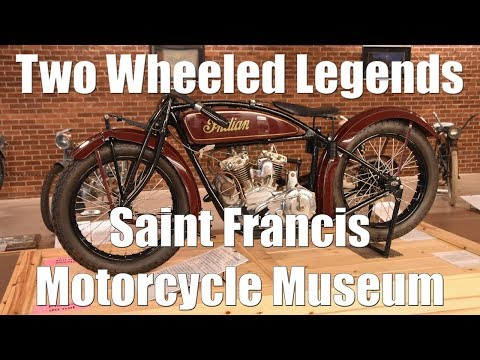 Two Wheeled Legends - St. Francis Motorcycle Museum - Rarest Motorcycles in America