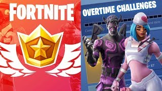 *NEW* OVERTIME CHALLENGES!! RIGHT NOW!! (Fortnite Battle Royale) Live