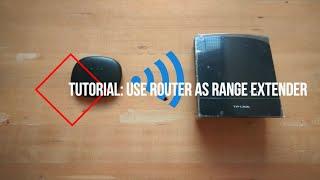 tutorial how to use wifi router as repeater range extender  jiofi mifi range extender