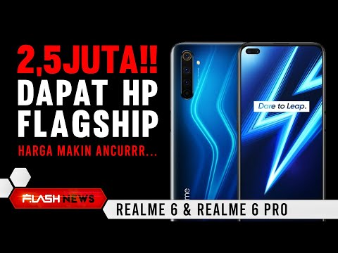 RESMI..!!   REALME 6   6PRO RESMI DI RILIS DI INDONESIA , SPEK & HARGA   UNBOXING & REVIEW SOON....