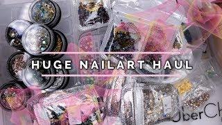 Huge Blinged out Nailart Haul | AliExpress | Ebay | Wish