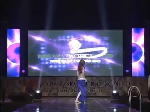 Talent Show Miss India Srishti Rana  at Miss Asia Pacific 2013 SUPERTALENT WORLD Season 3