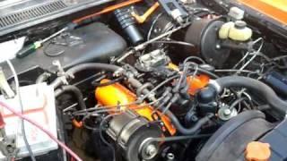 First run after rebuild. Ford Granada MK1 3,0 V6 Essex